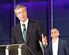 Mayor of London and London Assembly results announcement at City Hall, London, Great Britain <br /> 6th May 2016 <br /> <br /> <br /> Zac Goldsmith - Conservative<br /> <br /> Sadiq Khan - Labour <br /> <br /> The winner was Sadiq Khan who is appointed the new mayor of London <br /> <br /> <br /> <br /> Photograph by Elliott Franks <br /> Image licensed to Elliott Franks Photography Services