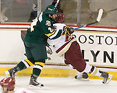 Tobias Nilsson-Roos (Vermont - 24), Patch Alber (BC - 27) - The Boston College Eagles defeated the visiting University of Vermont Catamounts 6-0 on Sunday, November 28, 2010, at Conte Forum in Chestnut Hill, Massachusetts.