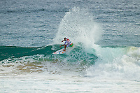 SNAPPER ROCKS, Queensland/Australia (Wednesday, March 9, 2011) -Tiago Pires (PRT).   Reigning 10-time ASP World Champion Kelly Slater (USA), 39,  secured his 46th elite tour win today, defeating defending event champion Taj Burrow (AUS), 32, to claim the Quiksilver Pro Gold Coast .. .The opening event of the 2011 ASP World Title season, the Quiksilver Pro Gold Coast showcased the incredible depth of talent in the current ASP Top 34, but the victory went to the iconic Floridian...Slater sprung to life on the final day of competition, posting his top results en route to the Final against Burrow. Slater slowly built upon his scores in his bout against the Australian and his refined strategy proved to be enough to earn the Floridian the 2011 Quiksilver Pro Gold Coast crown.. Burrow, who was arguably the form surfer throughout the entirety of the event, went on an absolute rampage on the final day of competition to oust American Brett Simpson (USA), 26, in the Quarterfinals and dangerous South African Jordy Smith (ZAF), 23, in the Semifinals, but fell just short of the score needed to surpass Slater for the victory in the back-half of their duel, finishing runner-up overall.. .Photo: joliphotos.com