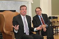 20140121_Senator Mark Warner visit the Darden School of Business
