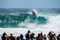 Snapper Rocks, Coolangatta, Queensland Australia. (Tuesday March 11, 2014) Kelly Slater (USA) was defeated by Adrinao de Souza (BRA) in the quaterfinals.–  The swell  was in the 3'-6' range all day and the Quiksilver Pro was completed right on dark with Gabriel Medina (BRA) defeating local favourite Joel Parkinson (AUS) in the 35 minute final. Photo: joliphotos.com