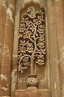 Ishak Pasha Saray Palace Dogubayazit Turchia,paesaggio   . Anatolia Orientale, particolare architettonico.