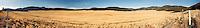 Panorama of the Valle Grande caldera, Valles Caldera National Preserve, New Mexico, USA