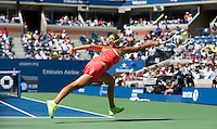 ANETT KONTAVEIT (EST)<br /> <br /> The US Open Tennis Championships 2015 - USTA Billie Jean King National Tennis Centre -  Flushing - New York - USA -   ATP - ITF -WTA  2015  - Grand Slam - USA  <br /> <br /> &copy; AMN IMAGES