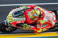 Valentino Rossi last laps with Ducati team