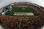 07 JAN 2012: Fans fill the stands at Pizza Hut Park as Sam Houston State University takes on North Dakota State University during the Division I Men's FCS Football Championship held at Pizza Hut Park in Frisco, TX. North Dakota State beat Sam Houston State 17-6. Tom Pennington/ NCAA Photos