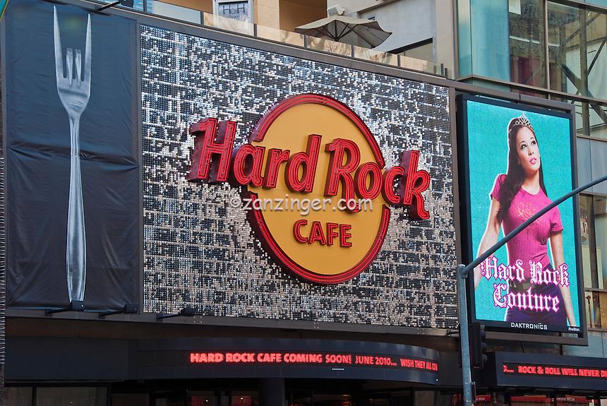 Hard Rock Cafe, Hollywood Blvd, Los Angeles, CA