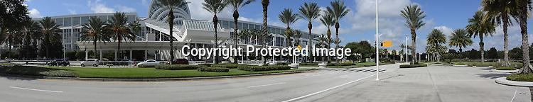 Convention Center at Orlando,Florida