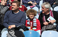 Burnley fans wait for the kick-off<br /> <br /> Photographer Stephen White/CameraSport<br /> <br /> The Premier League - Burnley v Manchester United - Sunday 23rd April 2017 - Turf Moor - Burnley<br /> <br /> World Copyright &copy; 2017 CameraSport. All rights reserved. 43 Linden Ave. Countesthorpe. Leicester. England. LE8 5PG - Tel: +44 (0) 116 277 4147 - admin@camerasport.com - www.camerasport.com