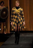 Ivanka Trump wearing clothing by Sandra Murray on the runway during the 2007 Johnnie Walker Dressed to Kilt Fashion Show to benefit returning veterans of Iraq and Afghanistan through the Friends of Scotland Charity, held at Capitale, Monday, April 2, 2007 in New York. <br />
