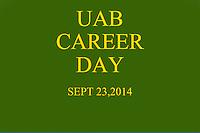 UAB CAREER DAY 9-23-2014