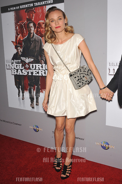 """Diane Kruger at the DVD launch of her movie """"Inglourious Basterds"""" at the New Beverly Cinema, Los Angeles..December 14, 2009  Los Angeles, CA.Picture: Paul Smith / Featureflash"""