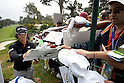 Ryo Ishikawa (JPN),.JUNE 13, 2012 - Golf :.Ryo Ishikawa of Japan signs autographs for fans during a practice round for the 2012 U.S. Open golf tournament at Lake Course of The Olympic Club in San Francisco, California, United States. (Photo by Thomas Anderson/AFLO) (JAPANESE NEWSPAPER OUT)