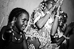 In the town of Djibo in northern Burkina Faso, a group of Fulani women and children dance and sing the night away.