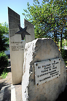 Colleferro.Monumenti ai caduti nelle missioni di pace.