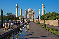 Aurangabad the Bibi-ka-Maqbara, India replica of the famous Taj mahal Mugal archutecture build in 1678 by Aurangzeb's son in memory of his mother Bgum Rabia Durani, India