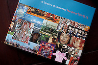 "Dinh Q. Le's book, ""A Tapestry of Memories: The Art of Dinh Q. Le"". ..Dinh Q. Le is a Vietnamese American fine arts photographer best known for his woven-photographs. Le uses traditional weaving techniques to combine mournful images from the Vietnam War with a sort of colorful fantasy. Le now works from his home in Ho Chi Minh City, Vietnam."