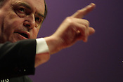 JOHN PRESCOTT, Labour Party conference, in Glasgow, Scotland, 16th February 2003.