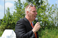 SPECIAL OLYMPICS: SNEEK: Sportpark Schutterveld, 14-06-2014, Special Olympics Nationale Spelen Fryslân 2014, Henk Jan Kerkhof, ©Martin de Jong