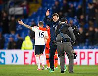 Tottenham Hotspur manager Mauricio Pochettino applauds the fans      <br /> <br /> <br /> Photographer Craig Mercer/CameraSport<br /> <br /> The Premier League - Crystal Palace v Tottenham Hotspur - Wednesday 26th April 2017 - Selhurst Park - London<br /> <br /> World Copyright &copy; 2017 CameraSport. All rights reserved. 43 Linden Ave. Countesthorpe. Leicester. England. LE8 5PG - Tel: +44 (0) 116 277 4147 - admin@camerasport.com - www.camerasport.com