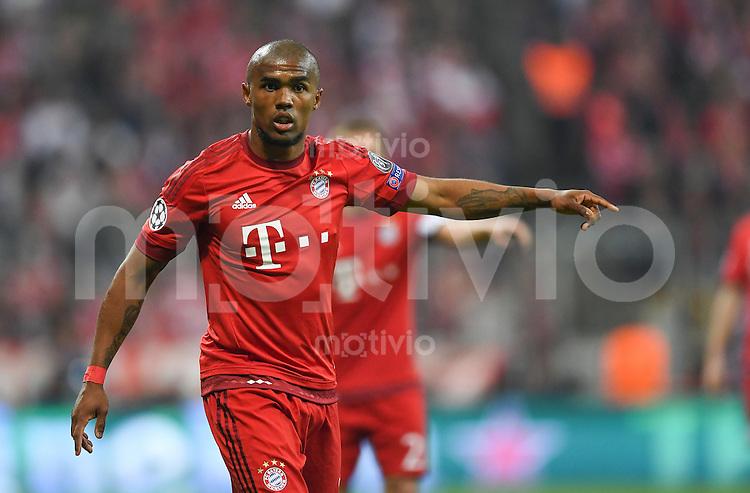 FUSSBALL CHAMPIONS LEAGUE  SAISON 2015/2016 VIERTELFINALE HINSPIEL FC Bayern Muenchen - Benfica Lissabon         05.04.2016 Douglas Costa (FC Bayern Muenchen)