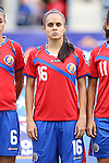 24 October 2014: Katherine Alvaredo (CRC). The Costa Rica Women's National Team played the Trinidad & Tobago Women's National Team at PPL Park in Chester, Pennsylvania in a 2014 CONCACAF Women's Championship semifinal game, which serves as a qualifying tournament for the 2015 FIFA Women's World Cup in Canada. Costa Rica advanced to the championship game, and qualified for next year's Women's World Cup, by winning the penalty shootout 3-0 after the game ended in a 1-1 tie after double overtime.