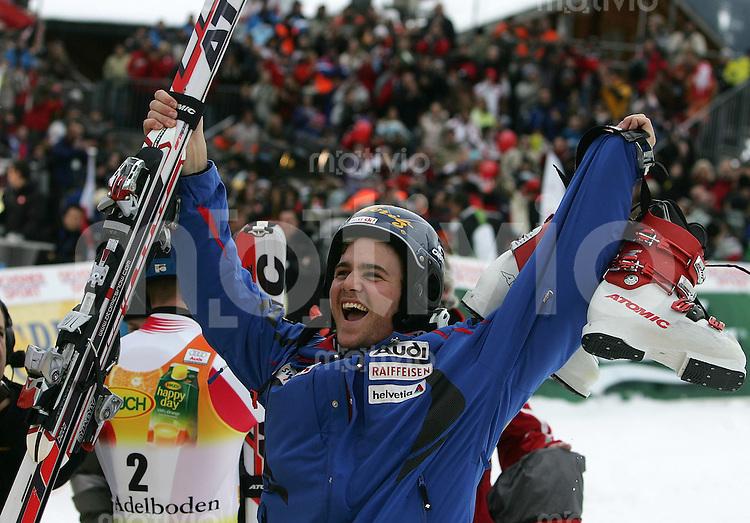Ski Alpin; Saison 2006/2007  41. Weltcup Slalom Herren Sieger Marc Berthod (SUI)