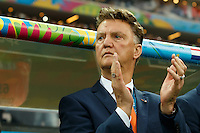 Netherlands manager Louis van Gaal