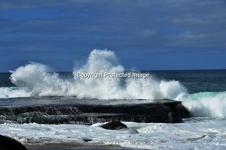 Photos of High Waves at Laguna Beach