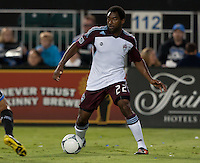Santa Clara, California - Saturday August 25th, 2012: Colorado Rapids' Marvel Wynne in action during a game against San Jose Earthquakes at Buck Shaw Stadium, Stanford, Ca    San Jose Earthquakes defeated Colorado Rapids 4 - 1