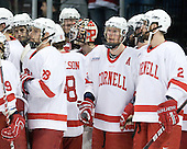 ?, Joe Scali (Cornell - 28), Riley Nash (Cornell - 14), Mike Devin (Cornell - 2) - The University of New Hampshire Wildcats defeated the Cornell University Big Red 6-2 (EN) on Friday, March 26, 2010, in their NCAA East Regional semi-final at the Times Union Center in Albany, New York.