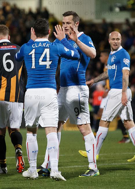 Jon Daly puts Rangers ahead