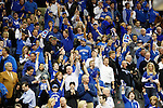 UK fans cheer in the second half of UK's Sweet 16 NCAA tournament win, 62-60 against 1 seed Ohio State at the Prudential Center in Newark, New Jersey on Friday, March 25, 2011.  Photo by Britney McIntosh | Staff