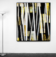 Artist:<br /> In House Rentals: Contemporary<br /> Reference #<br /> 2745_99dp<br /> Title<br /> Evans: <br /> Dims.<br /> 63.25&quot; x 55.25&quot; x 2&quot; <br /> Framed<br /> Black Float <br /> Medium<br /> Digital Print <br /> Price<br /> Available upon request