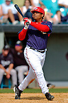 14 March 2006: Daryle Ward, infielder for the Washington Nationals, at bat during a Spring Training game against the Florida Marlins. The Marlins defeated the Nationals 2-1 at Space Coast Stadium, in Viera, Florida...Mandatory Photo Credit: Ed Wolfstein..
