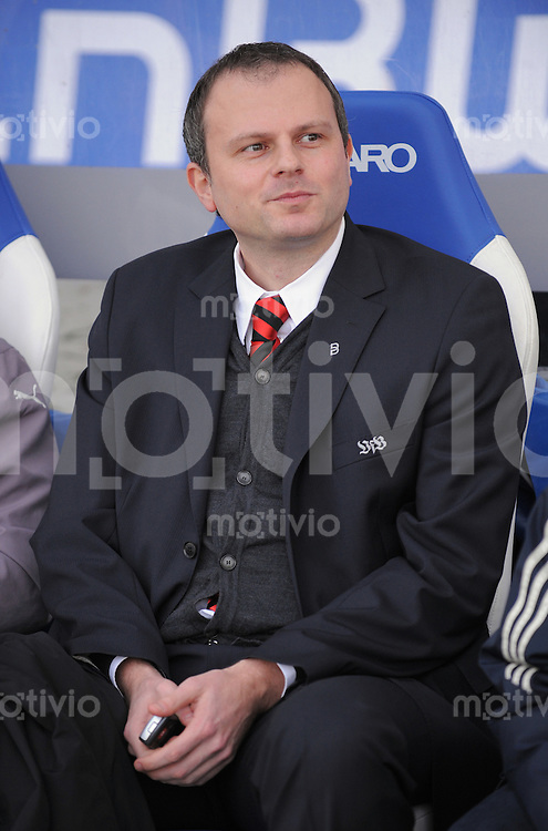 FUSSBALL     1. BUNDESLIGA     SAISON 2008/2009  22. SPIELTAG   01.03.2009 VfB Stuttgart  -  Karlsruher SC      VfB Sportdirektor Jochen Schneider