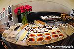 dessert buffet at  elegant  Bat Mitzvah at the 65th floor ballroom of the  Mandarin Oriental Hotel.  ..