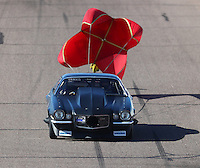 Feb 24, 2017; Chandler, AZ, USA; NHRA top sportsman driver Josh Edwards during qualifying for the Arizona Nationals at Wild Horse Pass Motorsports Park. Mandatory Credit: Mark J. Rebilas-USA TODAY Sports