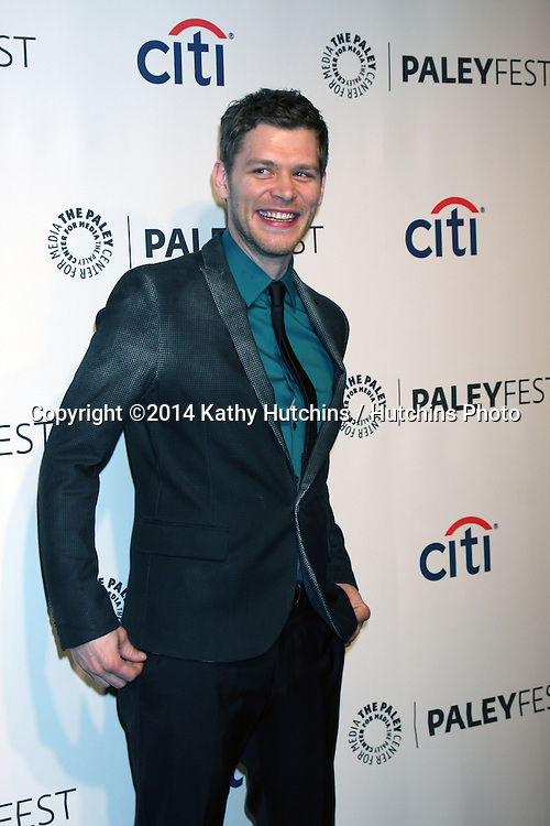 "LOS ANGELES - MAR 22:  Joseph Morgan at the PaleyFEST 2014 - ""The Vampire Diaries"" & ""The Originals"" at Dolby Theater on March 22, 2014 in Los Angeles, CA"