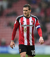Sheffield United's Billy Sharp<br /> <br /> Photographer Chris Vaughan/CameraSport<br /> <br /> The EFL Sky Bet League One - Sheffield United v Charlton Athletic - Saturday 18th March 2017 - Bramall Lane - Sheffield<br /> <br /> World Copyright &copy; 2017 CameraSport. All rights reserved. 43 Linden Ave. Countesthorpe. Leicester. England. LE8 5PG - Tel: +44 (0) 116 277 4147 - admin@camerasport.com - www.camerasport.com