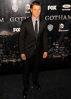 NEW YORK CITY, NY, USA - SEPTEMBER 15: Ben McKenzie arrives at the New York Series Premiere Of 'Gotham' held at the New York Public Library on September 15, 2014 in New York City, New York, United States. (Photo by Celebrity Monitor)