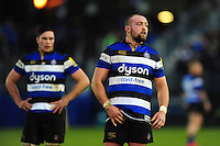 Tom Dunn of Bath Rugby looks on during a break in play. Aviva Premiership match, between Bath Rugby and Exeter Chiefs on December 31, 2016 at the Recreation Ground in Bath, England. Photo by: Patrick Khachfe / Onside Images