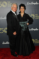 LOS ANGELES, CA, USA - DECEMBER 06: Marc Stern, Eva Stern arrive at The Music Center's 50th Anniversary Spectacular held at The Music Center - Dorothy Chandler Pavilion on December 6, 2014 in Los Angeles, California, United States. (Photo by Celebrity Monitor)
