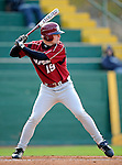 30 April 2008: University of Massachusetts Minutemen outfielder Kyle Multner, a Freshman from Peabody, MA, in action against the University of Vermont Catamounts at Historic Centennial Field in Burlington, Vermont. The Catamounts recorded a season-high 19 hits as they defeated the Minutemen 17-4 in their last NCAA non-conference game of the year...Mandatory Photo Credit: Ed Wolfstein Photo