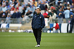3 December 2006: Notre Dame head coach Randy Waldrum. The University of North Carolina Tarheels defeated the University of Notre Dame Fighting Irish 2-1 at SAS Stadium in Cary, North Carolina in the NCAA Division I Women's College Cup championship game.