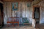 Casa  de ribeirinhos nna Ilha de Marajo. Para. 2009. Foto de Ubirajara Machado.