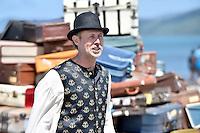 Ed Van Son, Petone Settlers 175th Anniversary on the Petone Foreshore, Lower Hutt, New Zealand on Sunday 19 January 2015. <br /> Photo by Masanori Udagawa.<br /> www.photowellington.photoshelter.com.