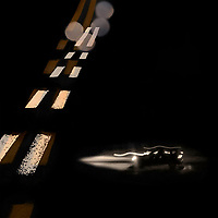 """Night Drive II"" - 08/27/2010 - Digital Mixed Media - ©Thierry Gourjon"