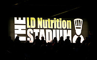 Picture by Allan McKenzie/SWpix.com - 11/05/2017 - Rugby League - Ladbrokes Challenge Cup - Featherstone Rovers v Halifax RLFC - The LD Nutrition Stadium, Featherstone, England  - The LD Nutrition Stadium, branding, sign, fans.