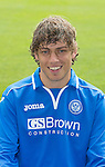 St Johnstone FC 2013-14<br /> Murray Davidson<br /> Picture by Graeme Hart.<br /> Copyright Perthshire Picture Agency<br /> Tel: 01738 623350  Mobile: 07990 594431
